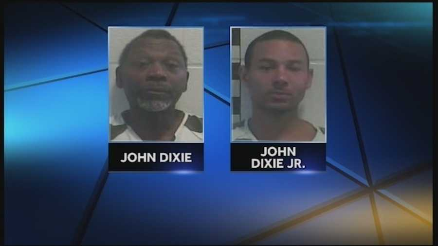 A Shelbyville man is at University Hospital in serious condition and two suspects are in jail after a late-night shooting Labor Day.