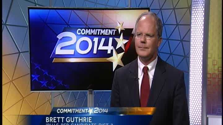 Brett Guthrie is the incumbent Republican running for Congress from Kentucky's 2nd District.