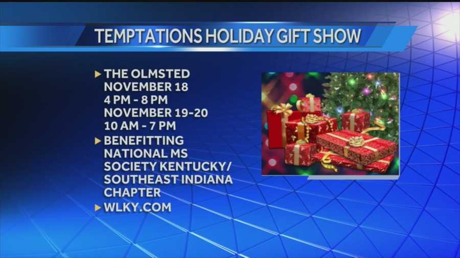 Temptations Hoilday Gift Show benefitting National Ms. Society