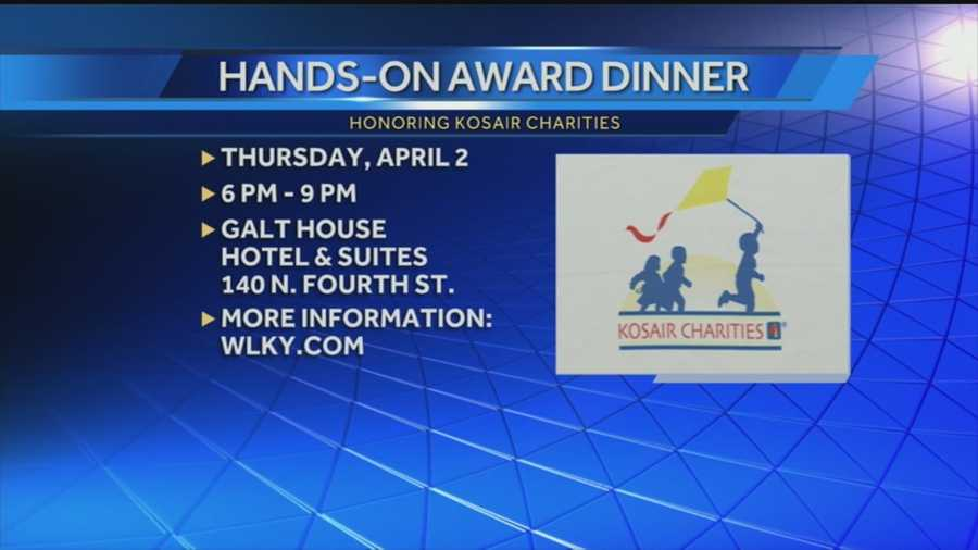 Local group will honor Kosair charities during annual awards dinner