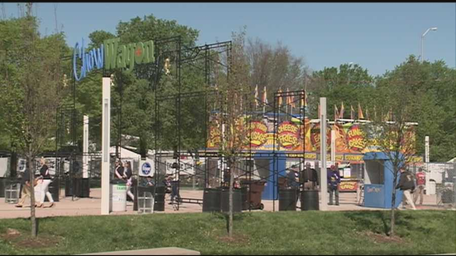 Kroger's Fest-A-Ville and Chow Wagon are open from now through May 1 at Waterfront Park and feature music, family fun, food vendors, an expanded midway area and more.