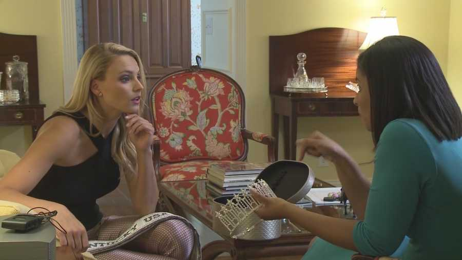 From collegiate athlete to capturing the crown of Miss Kentucky USA. Katie George is a local woman out of her comfort zone. WLKY's Monica Hardin has more on how the assumption and UofL ended up doing something she never imagined.