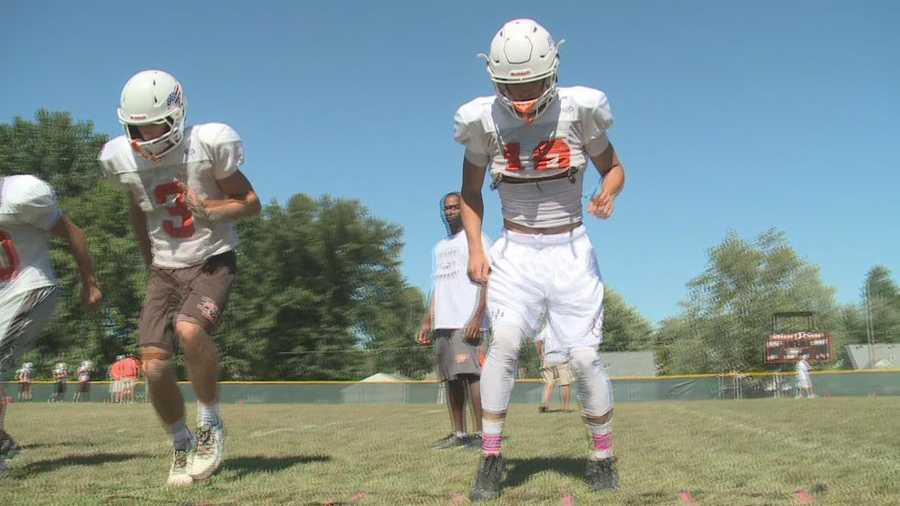 "DeSales using Central's model of ""scheduling up"" in class to help with late season push."