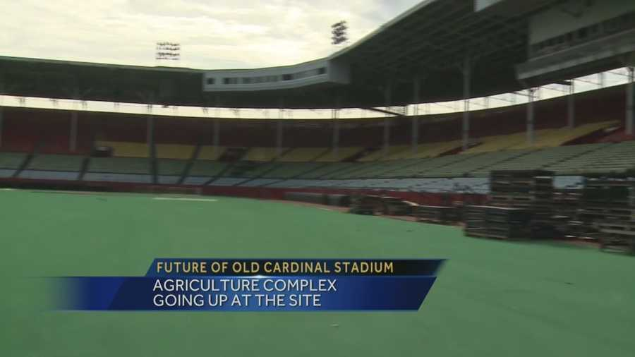 Old Cardinal Stadium could become agricultural complex