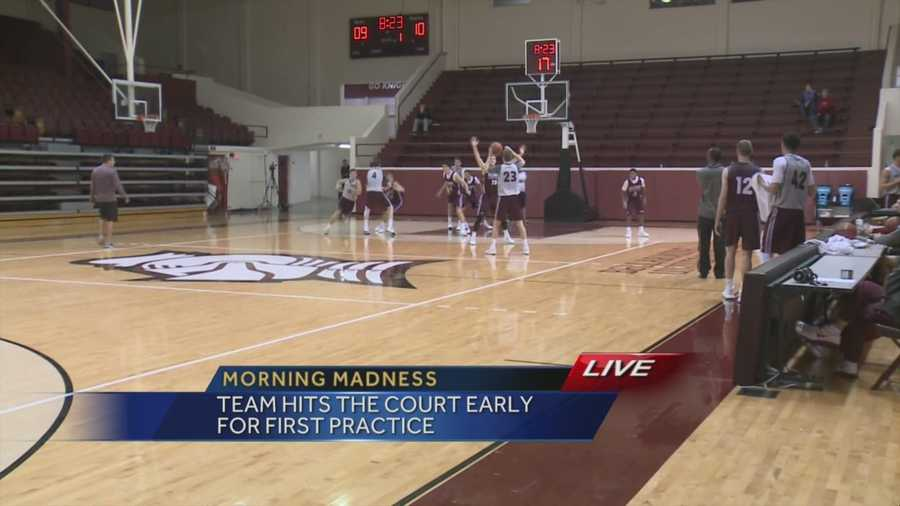 The Bellarmine Knights kick off their season Thursday with an early morning practice.