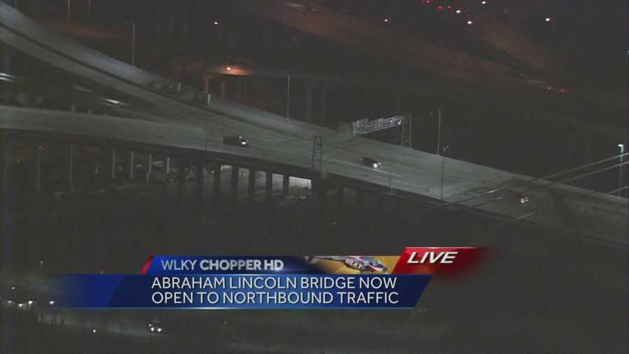 New Abraham Lincoln Bridge Opens to Traffic.