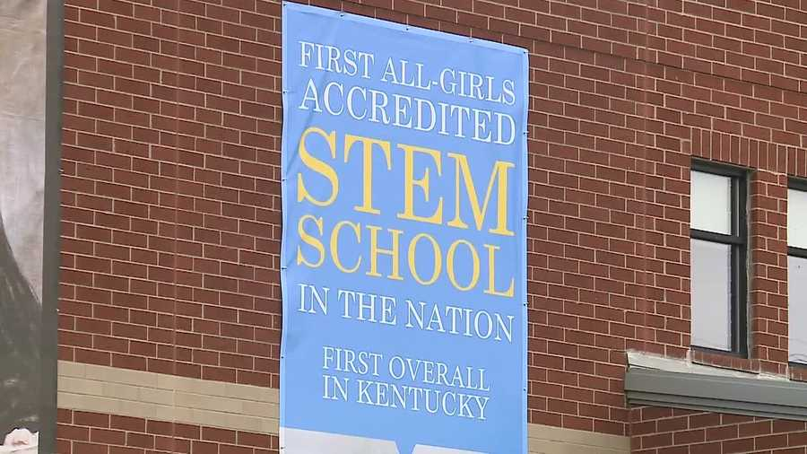Mercy Academy is the nation's first all-girls school to become an accredited STEM school.