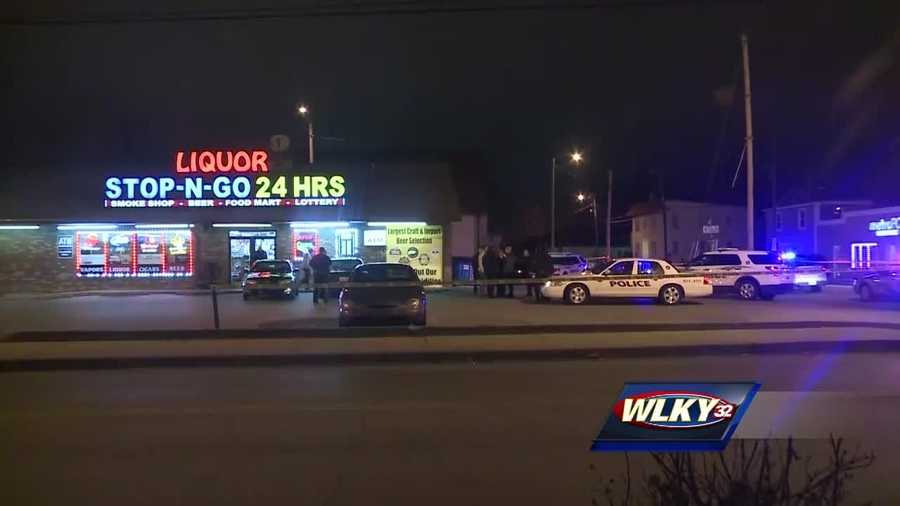 WLKY has now obtained a 911 call made moments after a liquor store clerk was shot and killed near the University of Louisville campus.