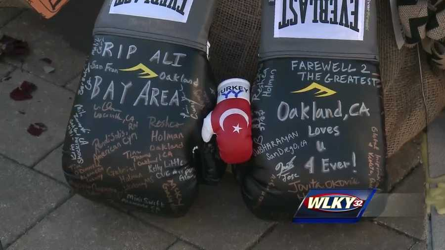 The world will join Louisville in saying a final goodbye to Muhammad Ali Friday.
