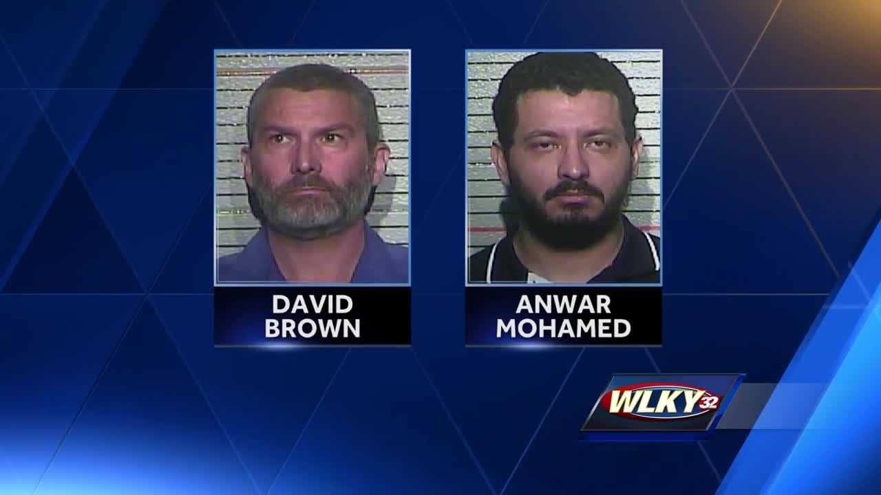 Two men accused of seeking sex with minors faced a judge in Frankfort on Thursday.