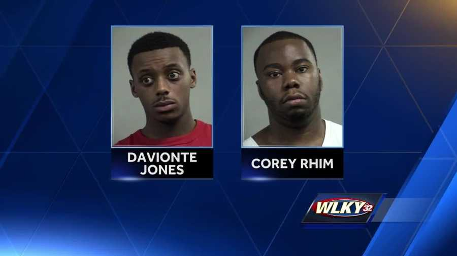 Investigators said the pair stole flat screen televisions from the clubhouses of apartment complexes in the east Louisville.