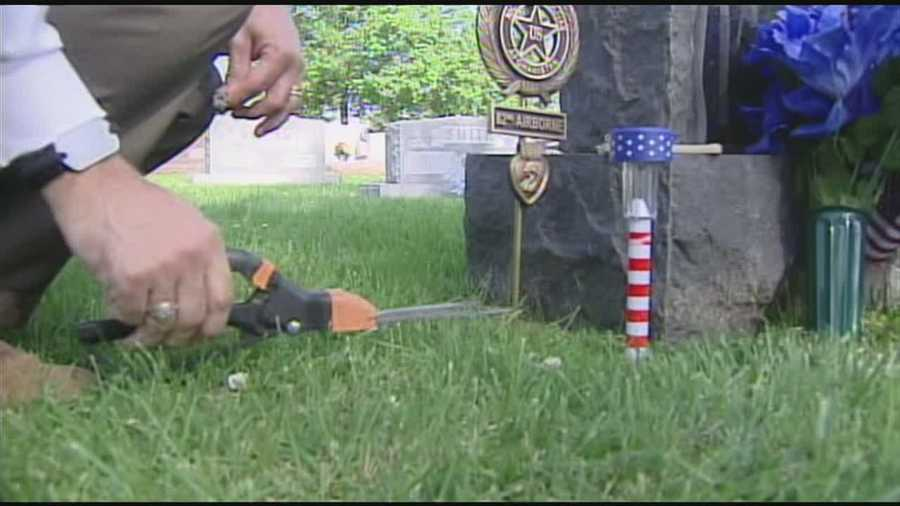 This Memorial Day week, a Hamilton father is remembering his son.