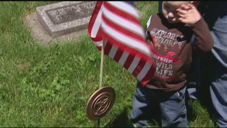 Graves of fallen heroes targeted by thieves. One family shows WLWT what was taken and why the money lost is only a small part of the damage.