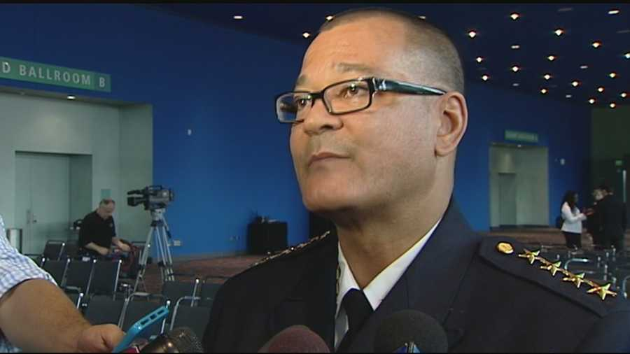 As he stepped towards the podium to be sworn in as Cincinnati's 14th police chief Monday morning, Jeffrey Blackwell surely understood the honeymoon period would last about as long as the ceremony.
