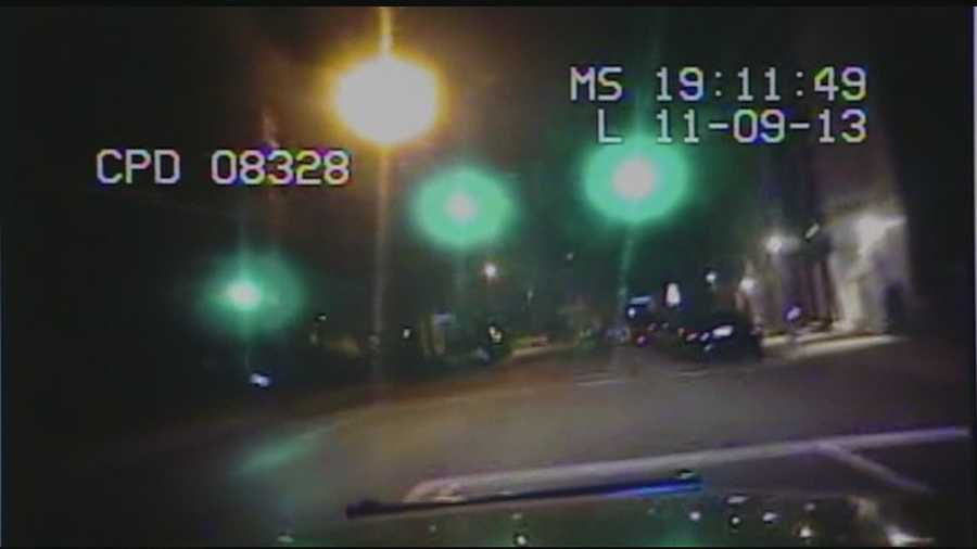 Blackwell showed video from Smith's cruiser camera as he responded to the call, but the camera system malfunctioned moments before the collision.