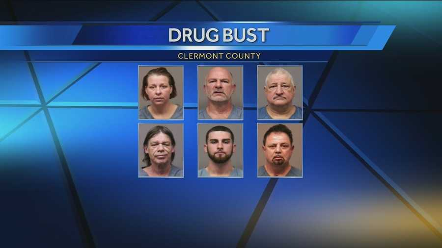 Six people charged with running a multi-county marijuana distribution ring appeared in Clermont County Court for the first time on Tuesday morning.