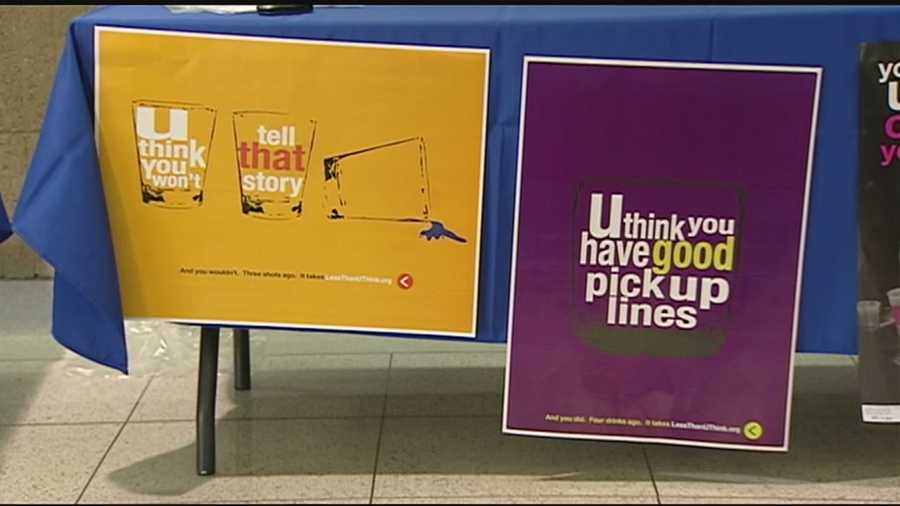 The College of Mount Saint Joseph and University of Cincinnati are partnering with the Coalition for a Drug Free Cincinnati to try and cut down on binge drinking on their respective campuses.