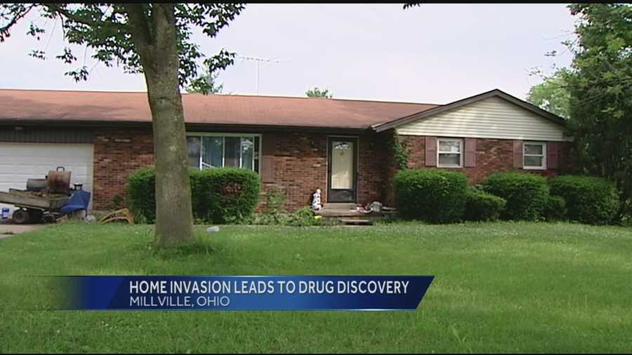 The Butler County Sheriff's Office said multiple people broke into Howard Fisher's home in the 1200 block of Millville-Shandon Road. When police responded to Fisher's 911 call they discovered a pot growing operation in the house's basement. Fisher lives with his grandson, so there is no telling who is responsible for the marijuana.