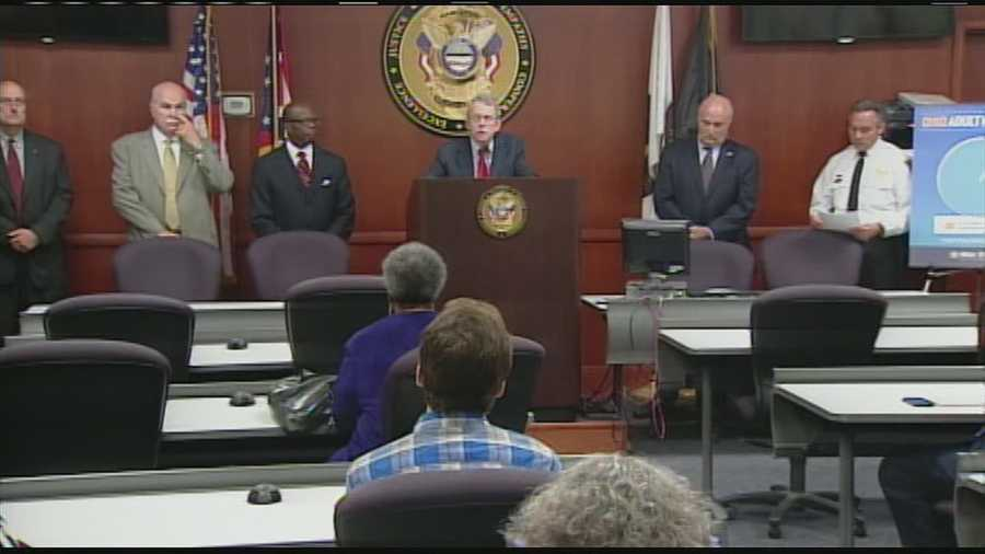 Attorney General Mike DeWine was in Butler County Thursday to announce the expansion of his Safe Neighborhood Program into the city of Hamilton.