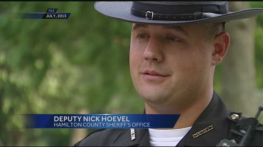 Hamilton County Deputy Nick Hoevel, 33, passed away unexpectedly Saturday night. Hoevel worked for the Hamilton County Sheriff's Office for 11 years.