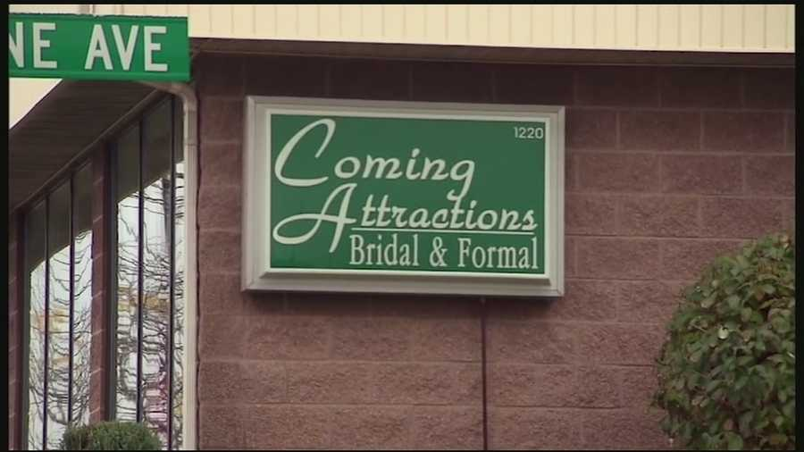 Officials said Amber Vinson limited her movements in Ohio but did meet some friends and visit Coming Attractions Bridal & Formal in Akron.