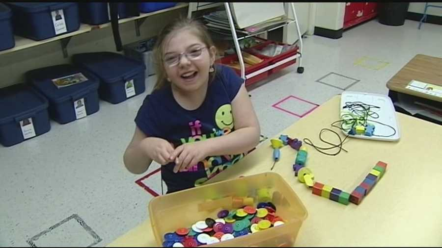 A group of Franklin students are helping raiser money for their classmate pay for a seizure dog.