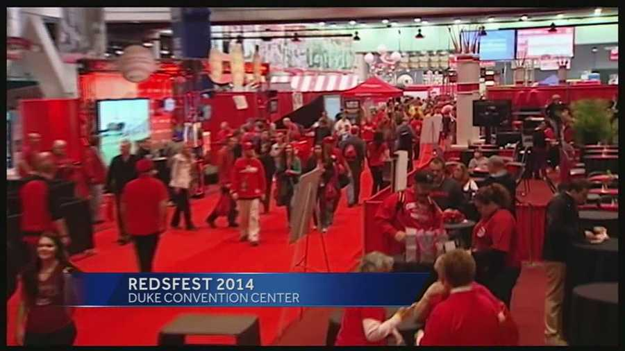 Redsfest 2014 runs through Saturday. Adult tickets are $17, kids are $7 and children under three are free.