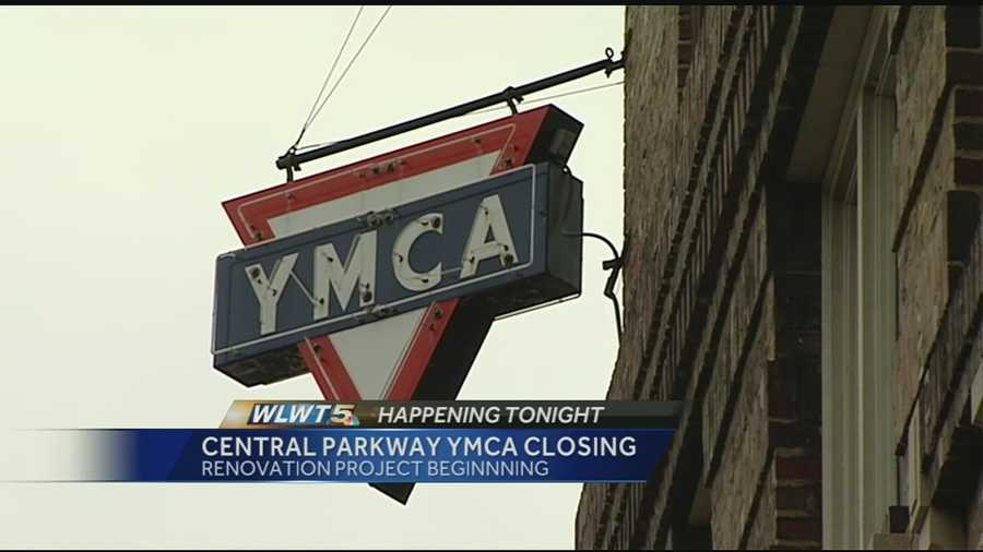 The YMCA on Central Parkway in downtown Cincinnati will close its doors for at least a year while the building undergoes major renovations. The building on the corner of Central Parkway and Elm Street in Over-the-Rhine is almost 100 years old.