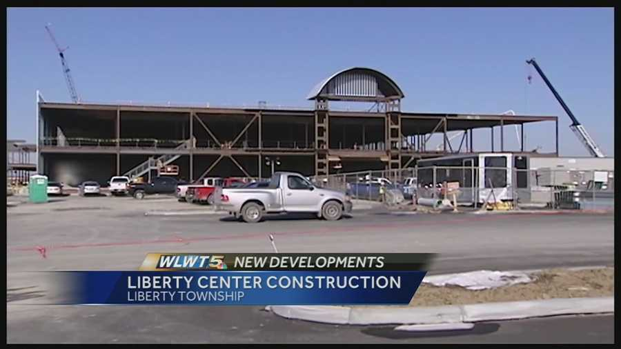 Developers gave a sneak peek at the progress of the new Liberty Center development.