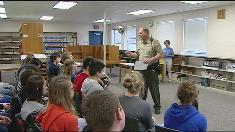 Clermont County freshman received a lesson during Child Abuse Awareness Month.