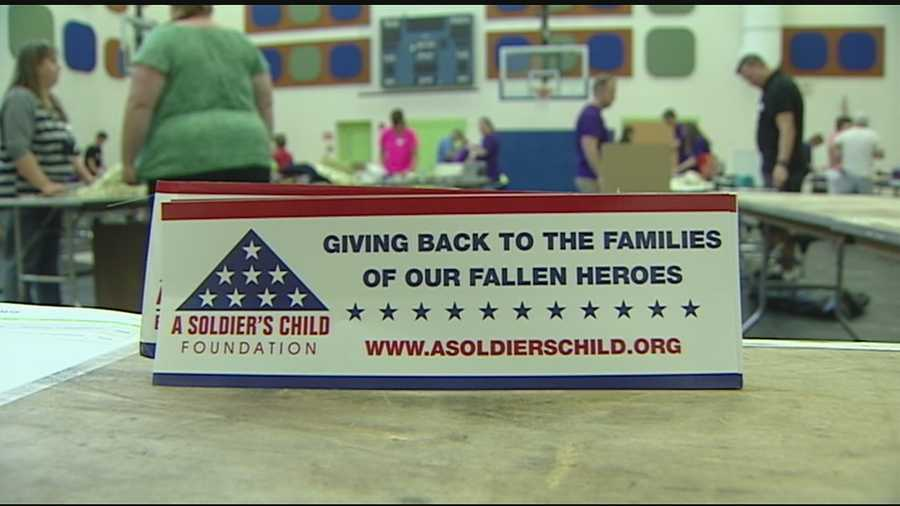 A foundation in Greater Cincinnati is trying to help children who lost family members in war. Volunteers with the A Soldiers Child Foundation hosted a celebration Saturday for eight children who were celebrating birthdays.