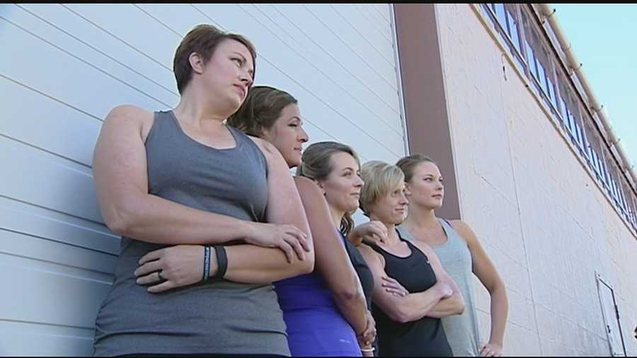 But 10 ladies in blue from various police departments across Northern Kentucky put their nerves aside to help the community in a different way.