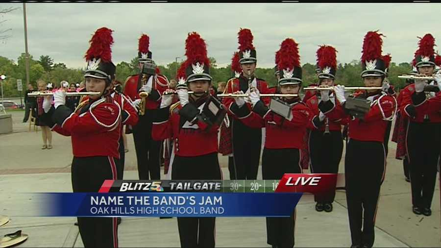 Can you name the high school band's jam? If so, it could land you a $50 Visa Gift Card from Cinfed Credit Union!