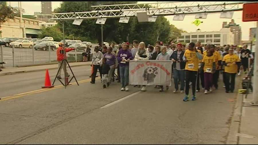 Sawyer Point hosts Walk Ahead for a Brain Tumor Cure event