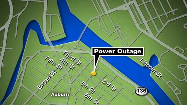 Power Outage In New Auburn