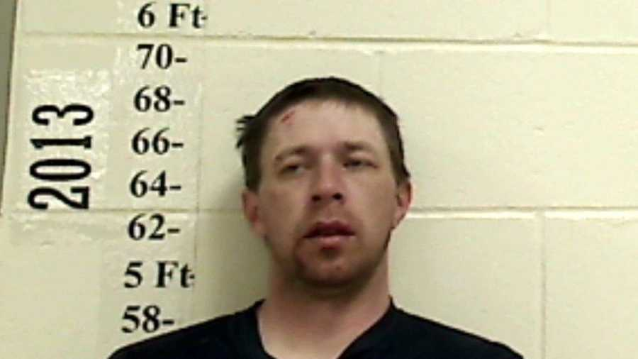 Toby Johnston is charged with drunken driving and leaving the scene of an accident.
