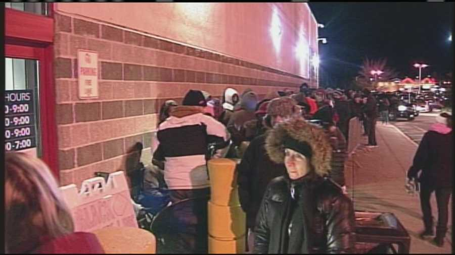 With Thanksgiving over, many are turning their attention to their holiday shopping. Stores in Maine opened just after midnight for shoppers looking for the best Black Friday deals. WMTW News 8's Katie Thompson reports.