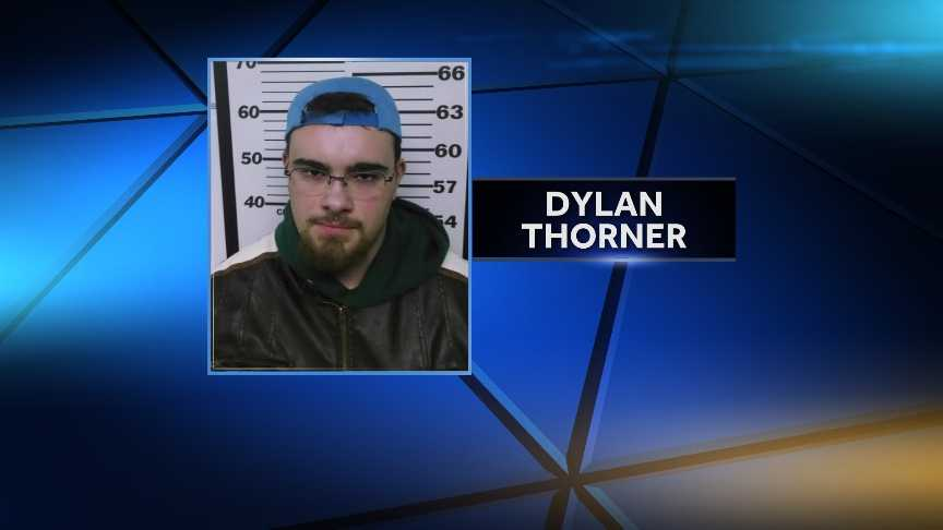 Dylan Thorner is charged with endangering the welfare of a child