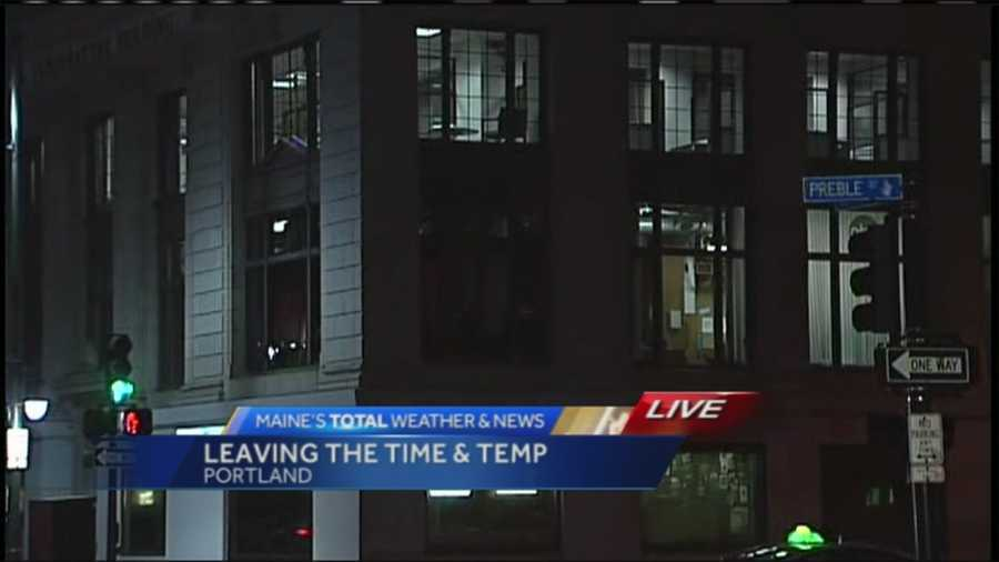 WMTW is moving out of Portland's Time & Temperature Building to a new state-of-the-art facility in Westbrook. The move is expected to be complete in the next few weeks.