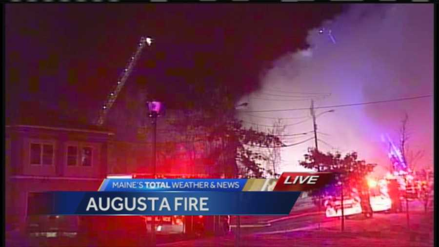 7 people have been injured in an early Friday morning fire in Augusta. WMTW News 8's Morgan Sturdivant talks with Augusta fire chief Roger Audette about the fire.