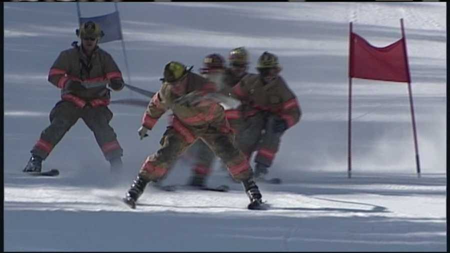 Teams of firemen dressed in full turnout gear and hit the slopes of Shawnee Peak Saturday to help raise money and awareness in the fight against breast cancer. WMTW News 8's Morgan Sturdivant has more from Mary's Firemen for a Cure.