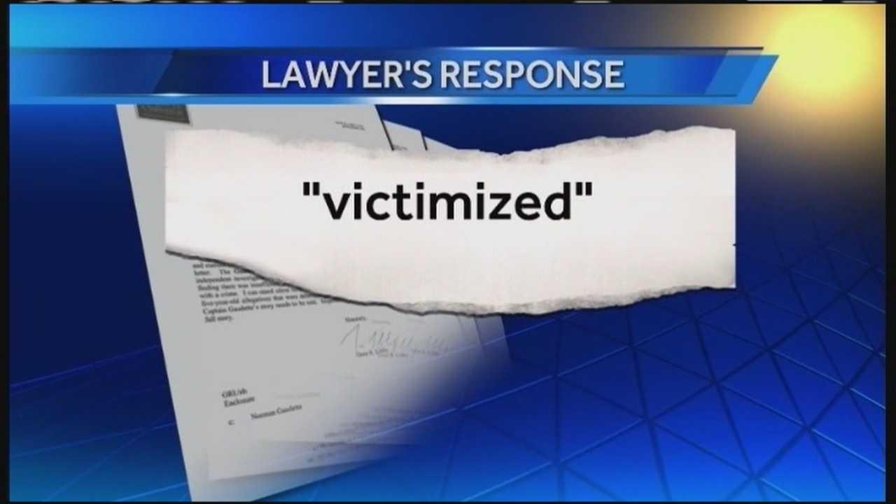 The lawyer representing two former Biddeford police officers accused of sexual abuse has broken his silence. Gene Libby sent a letter to WMTW News 8 saying past allegations against former Capt. Norman Gaudette were deemed legally insufficient.