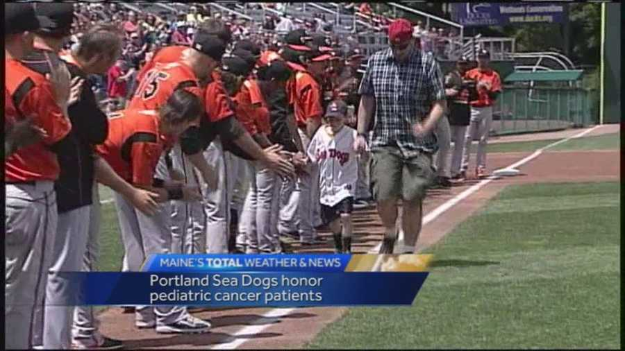 The Portland Sea Dogs are honoring some of Maine's bravest and youngest fighters this season.