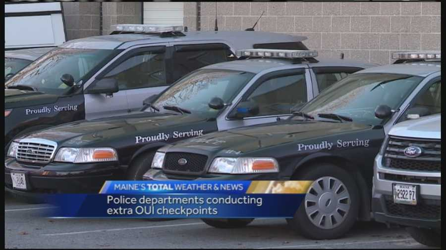 Westbrook police is one of several Maine departments boosting patrols through Christmas and into the new year.