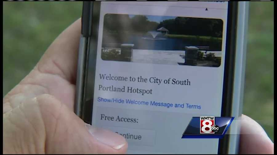 South Portland officials announced Friday that the city plans to bring free wireless internet to Mill Creek Park through a tech partnership.