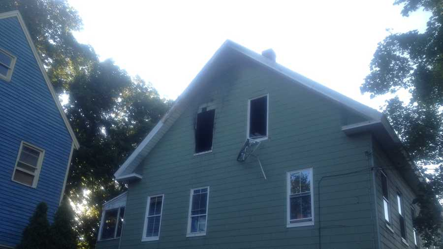 Firefighters in Rochester are looking into what caused a duplex fire late Wednesday night.