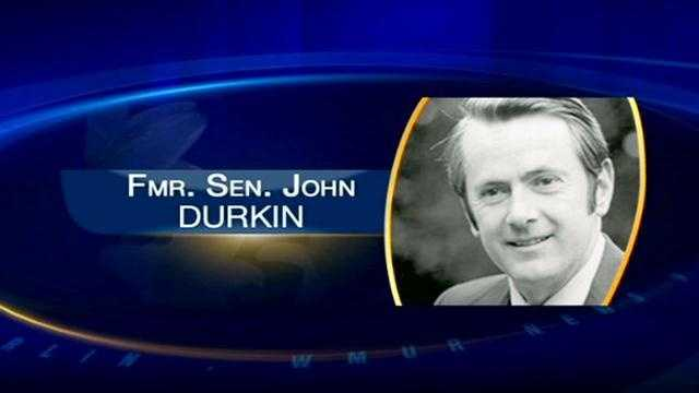 News 9's James Pindell and Josh McElveen discuss Sen. John Durkin's career, specifically the controversial 1974 election.