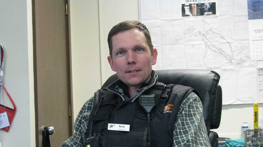 Ken Mack is director of snowmaking at Loon Mountain in Lincoln. He began in 1999 and is the third generation in his family his family to work on the mountain. He discussed advances in snowmaking technology and what it means to the snow surface, recently in his offices at the base of the mountain.