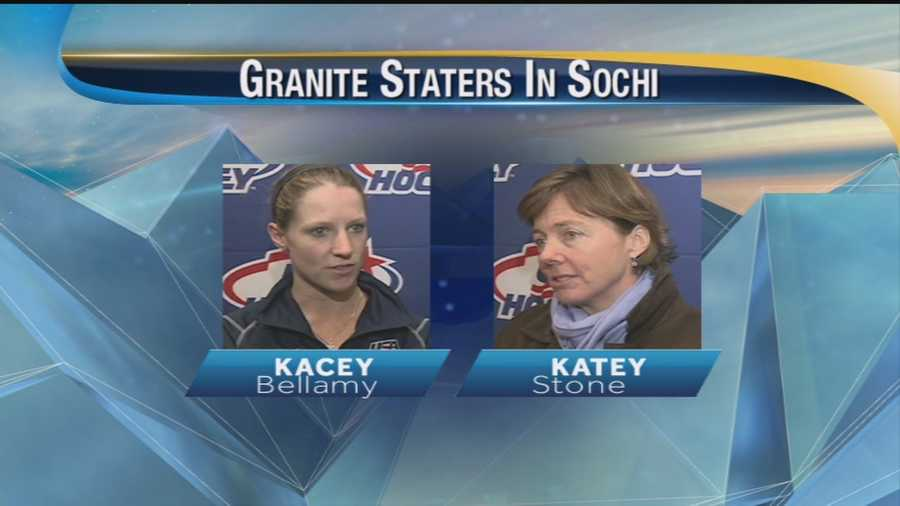 Two UNH Alums are heading to Sochi on the Women's Ice Hockey team