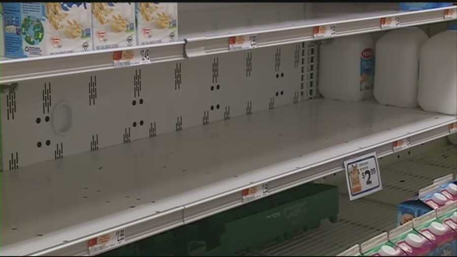 Shelves are empty at Market Basket supermarkets across the state as workers continue to protest the recent ouster of the company's CEO.